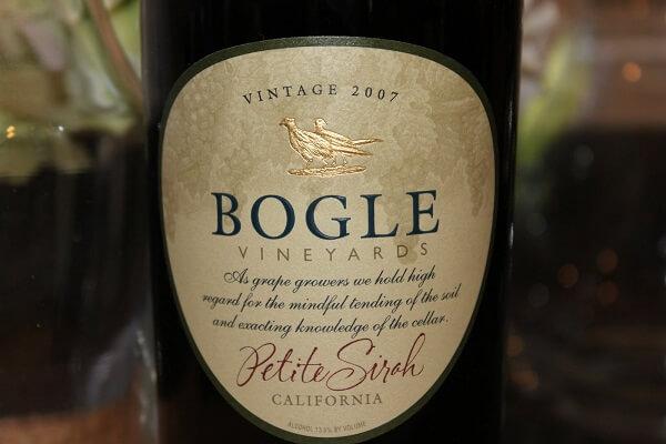 Wine Picks Bogle Petite Sirah