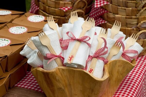 Southern Cooking Tricks napkins required